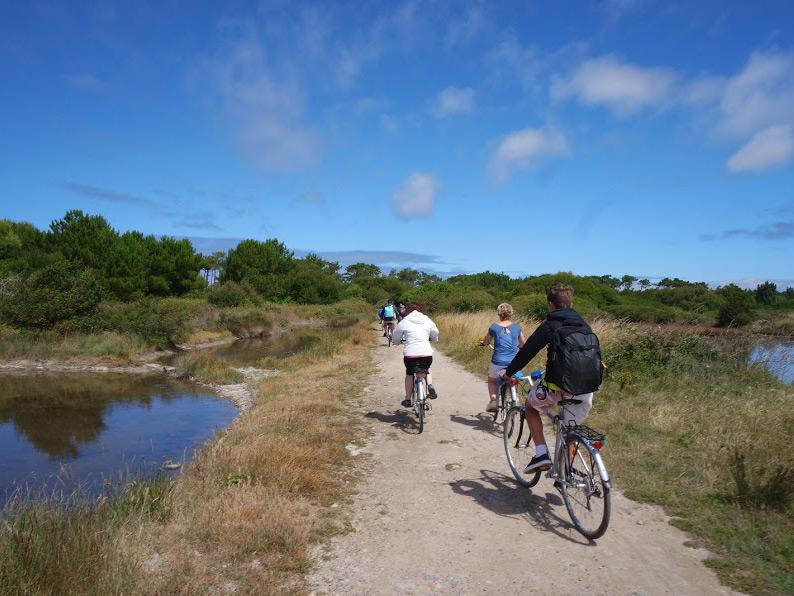 faire du vélo à Noirmoutier