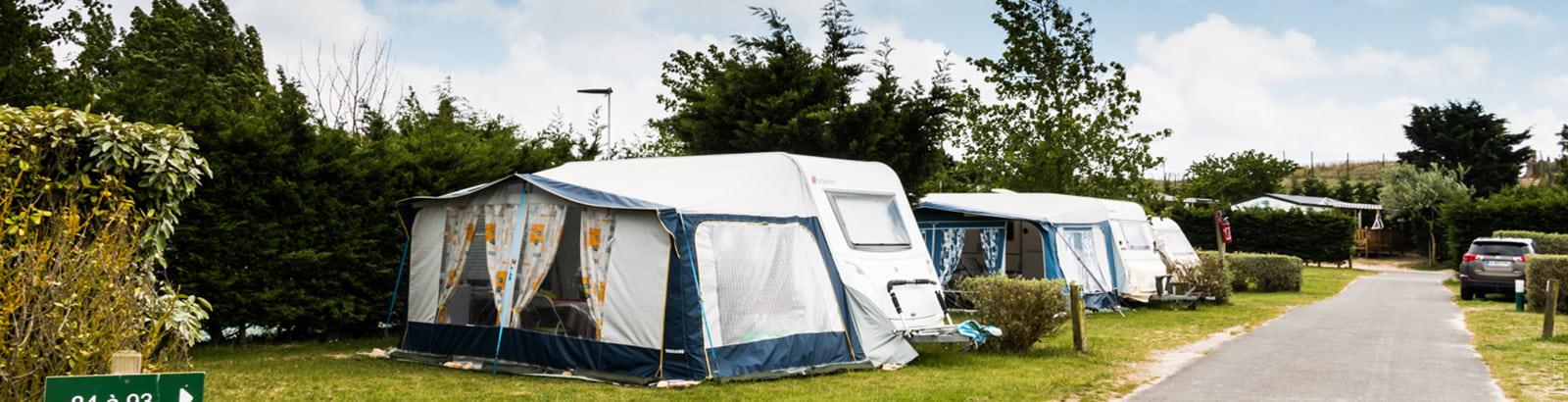 Camping Caravanile : ©campingcaravanile Location Emplacement 2