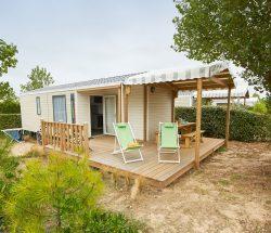 Camping Caravanile : Location Mobilhome